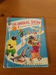 Tip Top Elf Book The Animal Show And Other Peter Patter Rhymes 1965