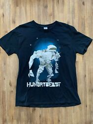Hungry Beast Size L Abc Television Show Promo T-shirt In Black Men's