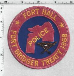 Fort Hall Fort Bridger Treaty 1868 Police Idaho 1st Issue Shoulder Patch