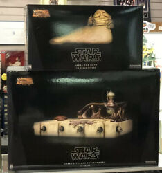 Star Wars Ep.vi Jabba The Hutt And Throne Deluxe Sixth Scale Figure Sideshow