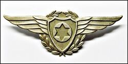 Israel Idf Airforce Hat Badge 1948 - Rare Extra Fine Condition