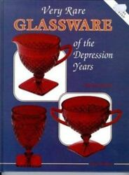 Very Rare Glassware Of The Depression Years Value And Id Guide Hardcover Book
