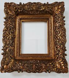 4 Wide Antique Premium Gold Leaf Ornate Oil Painting Wood Picture Frame 36x48