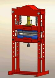 Hydropneumat 2 In 1 Bending Metal Sheet Press 20 To 50 Ton Plans Build Your Own