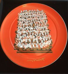 Guy Buffet Limited Edition Hand Signed Plate. 123 Of 400