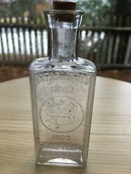 Early/rare - Druggist/pharamcist Bottle - N. Wood And Sons Of Portland, Maine