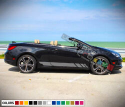 Decal Sticker Graphic Stripe Turbo For Buick Cascada Chrome Tail Light Lamp Led