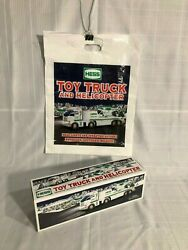 2006 Hess Toy Truck And Helicopter -nib And Bonus Original Bag