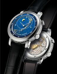 Patek Philippe 5102g Sky Moon Celestial White Gold 43.1mm Rare Special Edition