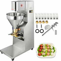 Vevor Commercial Electric Meatball Maker Machine With 5 Molds Meatball Maker