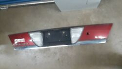 1998 - 2011 Crown Victoria Vic Trunk Back Up Light License Plate Panel Red