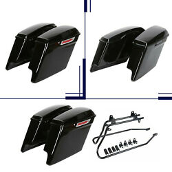 For 14-20 Harley Touring Road Glide 5 Stretched Extended Saddlebags Saddle Bags