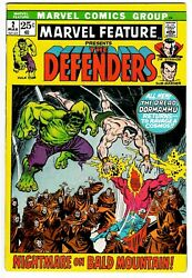 Marvel Feature 2 Vg/fn Defenders 2nd Appearance 1972 Marvel Comics