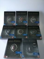 Game Of Thrones Season 1-8 Limited Signed Autographed Steelbook Complete
