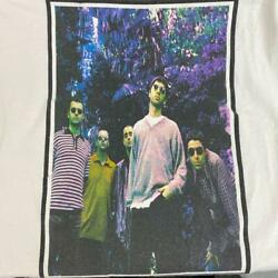 90's Vintage T Shirt Oasis Noel Liam Gallagher Size Xl Band Tee Rock From Jp