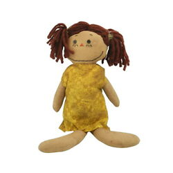 Primitive Grungy Stuffed Baby Doll Ornament Kids Plush Toys Christmas Art Gifts