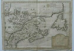 Map Canada Nouvelle France Ou Du Canada 1744 From Charlevoix S