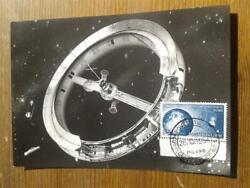 Space 1956 Very Rare Old Photo Artificial Satellite Space Astronautica Rb64
