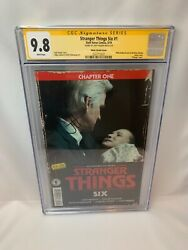 Stranger Things Six 1 Photo Variant 1d - Cgc 9.8 Ss Signed By Jody Houser