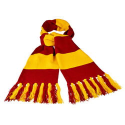 Universal Studios The Wizarding World Of Harry Potter Gryffindor Striped Scarf