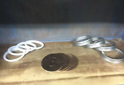 4-copper Wide Mouth Mason Jar Thumper Lids, Rings And Seals, Diy