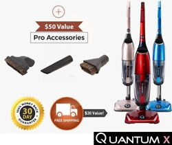 Quantum X Upright Water Vacuum Cleaner - No Filters, Reduces Germs, Wet/dry Vac