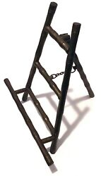 Rare Vintage - Brass Bamboo Tree Immitation Picture Frame Stand Holder 7x6
