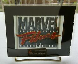 The Original Marvel Films Repro Transparency - Actual Artifact From Genesis Ent