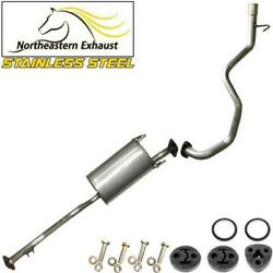 Stainless Steel Exhaust System With Bolts And Hangers Fits 96-2000 4runner 3.4l