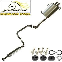 Stainless Steel Exhaust System With Bolts And Hangers Fits 99-04 I30 I35 Maxima