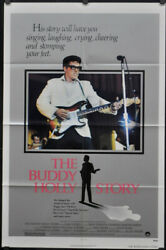 Buddy Holly Story 1978 Original 27x41 A Nm Movie Poster Gary Busey Don Stroud