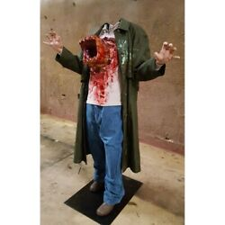 Halloween Life Size Chest Buster Charlie Photo Op Haunted House Horror - Presale
