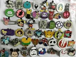 Disney Pins Trading Collection Lot Of 125 Hidden Mickey Star Wars Cast Members