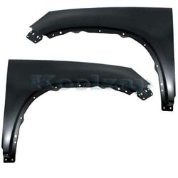 09-17 Vw Tiguan And 17-18 Tiguan Limited Front Fender Primed Left And Right Set Pair