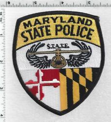State Police Aviation Division Maryland 1st Issue Shoulder Patch
