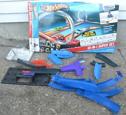 Hot Wheels 10 In 1 Super Set Boosters Track Loops Connectors Partial Incomplete