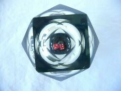 Vintage Acrylic Lucite Dice Retro Prism Paperweight