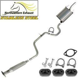 Stainless Steel Exhaust System With Hangers And Bolts Fit 2006-2011 Impala 3.5l