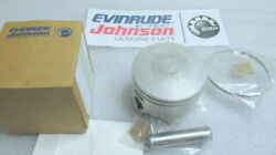 P23c Evinrude Johnson Omc 5006715 Piston And Ring Assy Oem New Factory Boat Parts