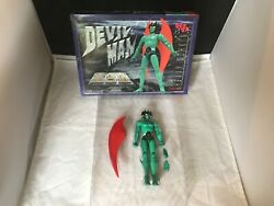 Soul Of Chogokin Devil Man By Marmit Diecast Metal Green/red Anime Figure Boxed