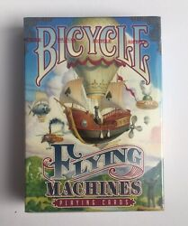 Flying Machines Bicycle Playing Cards - Poker Size Deck 2016