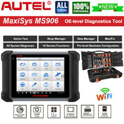 Autel Maxisys Ms906 Obd2 Scanner Car Diagnostic Scan Tool Tpms Abs Srs Oil Reset