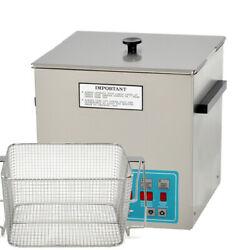Crest Powersonic P1100d-45 Heated Ultrasonic Cleaner W/perforated Basket,