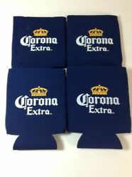 Set Of 4 Corona Extra Beer Bottle Can Koozie Coozie Cooler Brand New