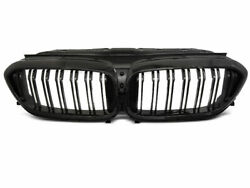Front Black Gloss Grill For Bmw G30/g31 17- M5 Style With Frame