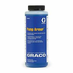 Pump Armor Protectant Fluid For Airless Paint Sprayer Storage Freeze Proof 1qt