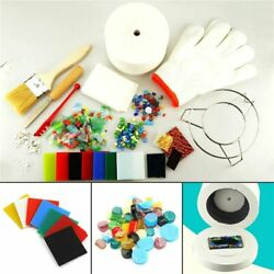 Stained Glass Fusing Microwave Kiln Kit Tool Set Kit Ceramic Accessory Supplies