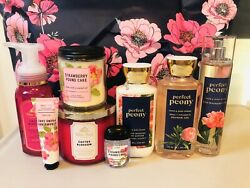 Bath & Body Works Mother's Day Spring 2020 Tote With 8 Items Brand New FREE SHIP