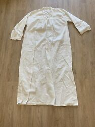 Primitive Night Gown Sleeping Shirt Cotton 1800andrsquos