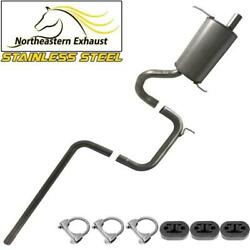 Stainless Steel Exhaust System Kit With Hangers Fits 2001-2010 Ptcruiser 2.4l